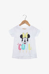 FOX Newborn & Baby Minnie Summer Graphic Tee
