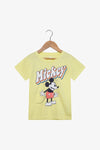 FOX Newborn & Baby Illustrated Mickey Graphic Tee