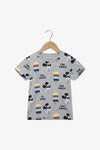 FOX Newborn & Baby Allover Mickey Mouse Print Tee