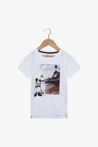 FOX Newborn & Baby Mickey Surfer Graphic Tee