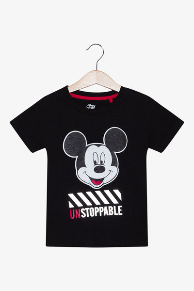 FOX Newborn & Baby Mickey Printed Tee
