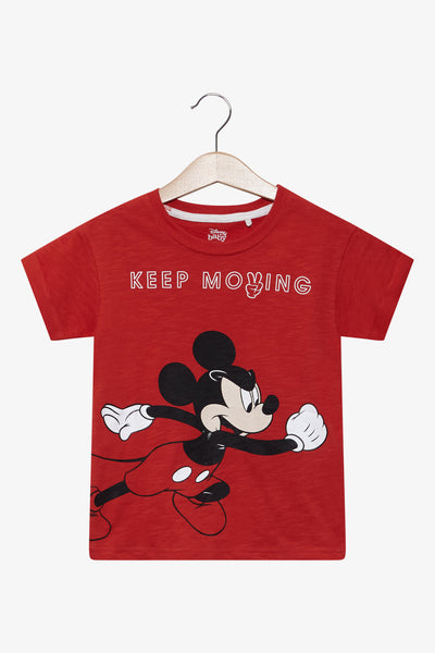 FOX BABY Boy Mickey Printed Tee