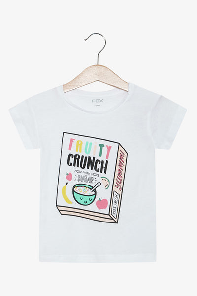 FOX Newborn & Baby Cereal Printed Tee