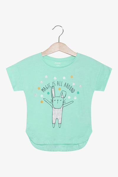 FOX Newborn & Baby Magic All Around Printed Tee