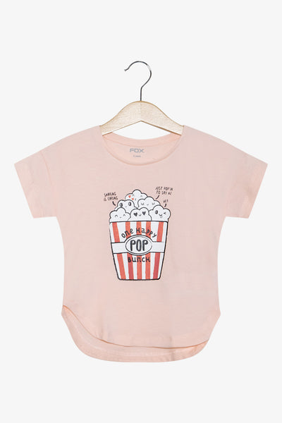 FOX Newborn & Baby Popcorn Graphic Print Tee