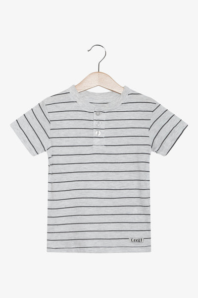 FOX Newborn & Baby Striped Tee