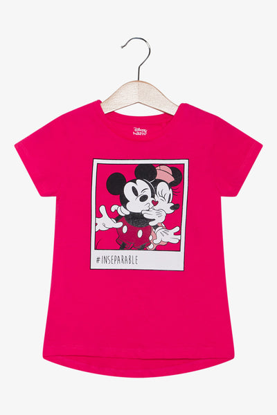 FOX Newborn & Baby Mickey Mouse Printed Tee