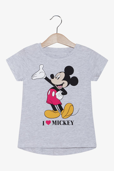 FOX Newborn & Baby I Love Mickey Printed Tee