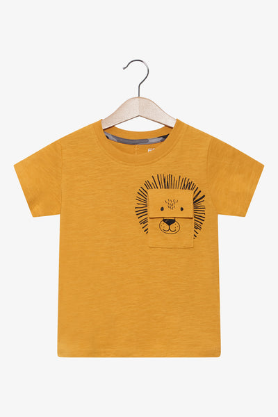 FOX BABY Boy Graphic Pocket Tee