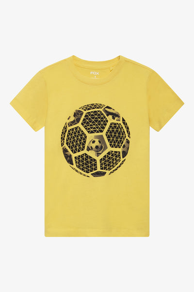 FOX Kid Boy Soccer Print Tee