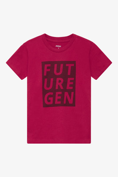 FOX Kid Boy Slogan Print Tee