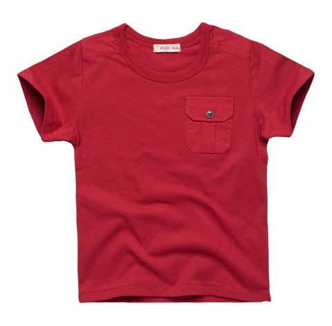 Essential Tee with Pocket details
