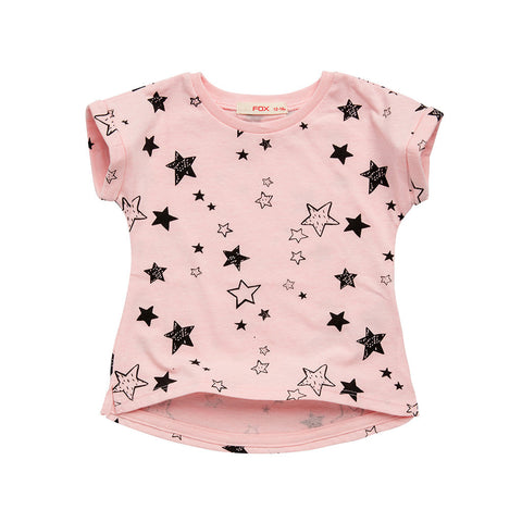 All Over Star Print Tee