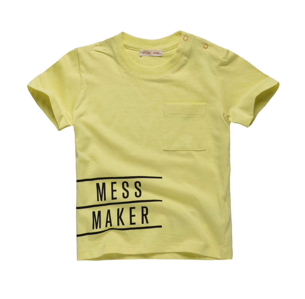c0206f73a8e1 Message Tee with Pocket detail | FOX KIDS & BABY