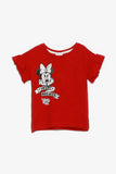 FOX BABY Girl Minnie Mouse Graphic Tee