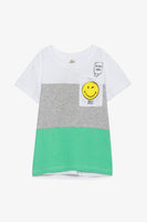 FOX BABY Boy Short Sleeve Printed Tee