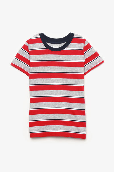 FOX BABY Boy Short Sleeve Jersey Tee