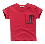 Tee with Zipper Pocket