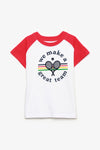 FOX BABY Boy Sporty Graphic Tee