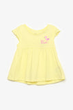 FOX BABY Girl Flamingo Jersey Dress