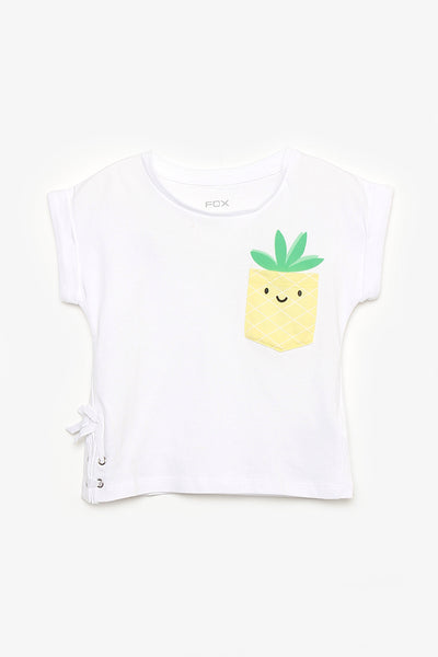FOX BABY Girl Pineapple Tee
