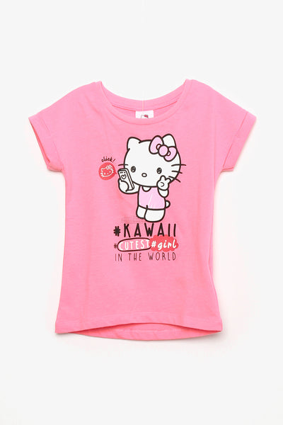 FOX BABY Girl Hello Kitty #Kawaii Tee