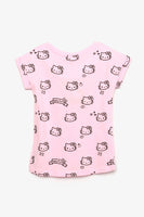 FOX BABY Girl All-Over Hello Kitty Tee