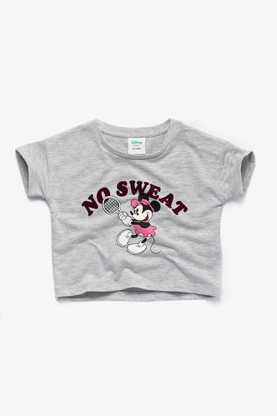 FOX BABY Girl Minnie Mouse Printed Crop Tee