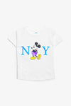 FOX BABY Girl Mickey Mouse Print Tee