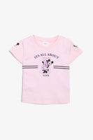 FOX BABY Girl Mickey Mouse & Minnie Mouse Print Tee
