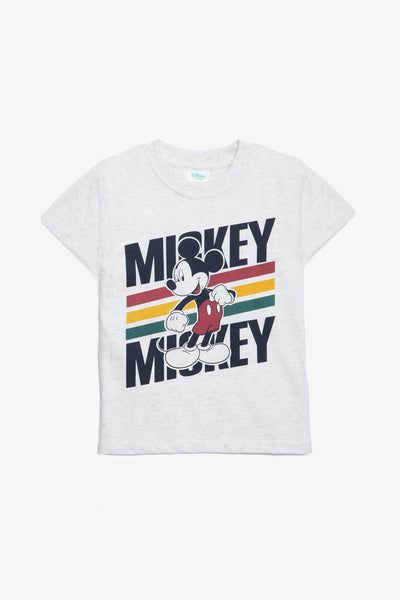 FOX BABY Boy Mickey Mouse Print Tee