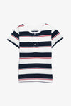 FOX BABY Boy Striped Henley Tee