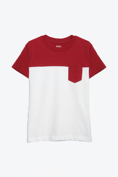 FOX BABY Boy Colourblock Jersey Tee