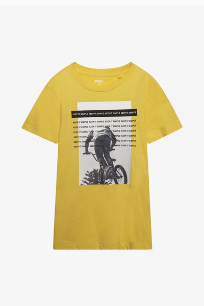 FOX Kid Boy Vintage Graphic Print Tee