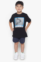 FOX Kid Boy Stay On Track Printed Tee