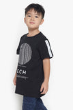 FOX Kid Boy Neuro Science Tech Printed Tee
