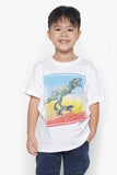 FOX Kid Boy Embossed Dino Printed Tee