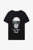 FOX Kid Boy Play Again Skull Printed Tee