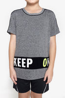 FOX Kid Boy Sporty Short Sleeve Top