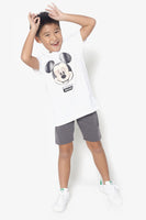 FOX KIDS Boy Casual Lenticular Mickey Graphic Tee