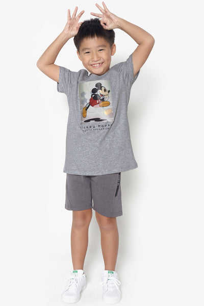 FOX KIDS Boy Lenticular Mickey Tee
