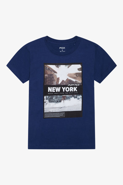 FOX Kid Boy New York Tee