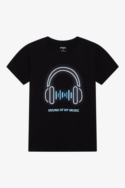 FOX Kid Boy Sound Of Music Print Tee