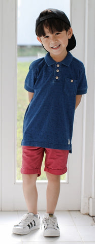 Polo Tee with Prints