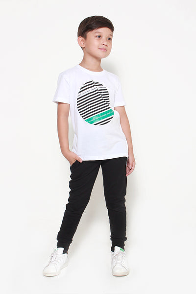 FOX KIDS Boy Casual Graphic Print Tee