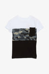 FOX KIDS Boy Casual Colourblock and Camo Tee