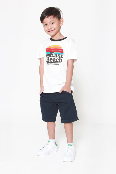 FOX KIDS Boy Sporty Retro Short Sleeve Tee