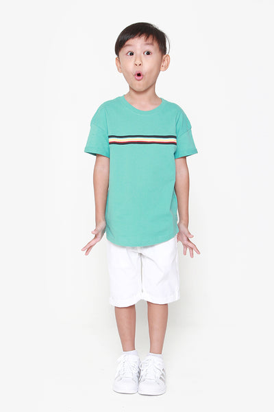 FOX KIDS Boy Casual Tee with Stripe Design