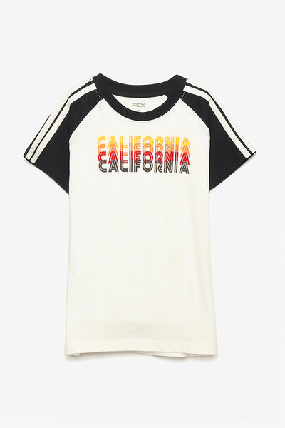 FOX KIDS Boy California Tee with Side-Stripes Sleeve