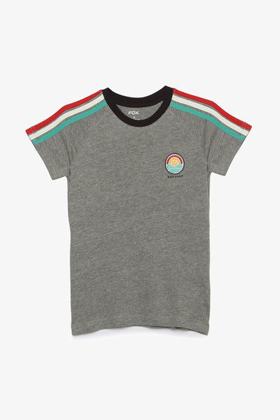 FOX KIDS Boy Sporty Tee with Side-Stripes Sleeve